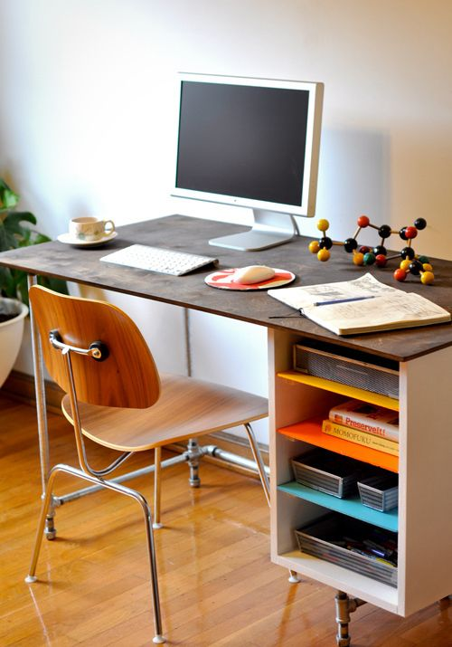 gorgeous desks for the diyer decor pipedecor diyinterior decorationawesome office amazing diy office desk