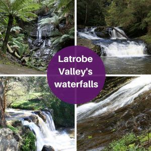 A day trip from the Latrobe Valley, to see four waterfalls, and our smaller towns.
