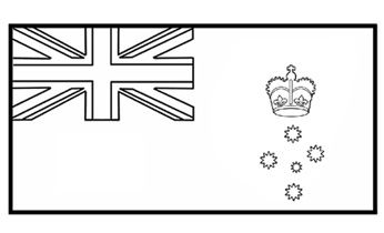 Victorian Flag - Flag History - Colouring Pages