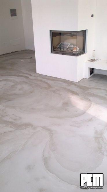 Pavimenti cemento salotto cose e casa flooring floor for Pavimenti salotto