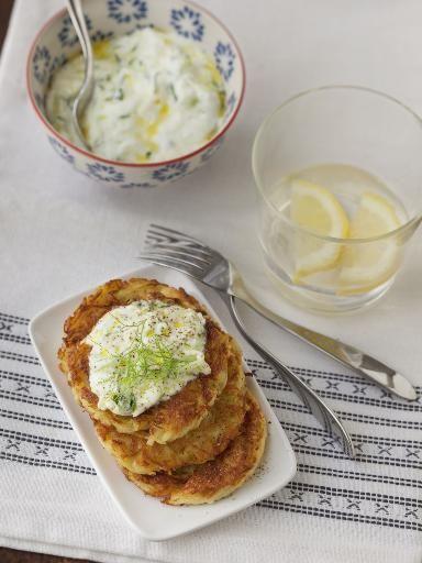 Galette de pommes de terre polonaise - Recette de cuisine Marmiton : une recette