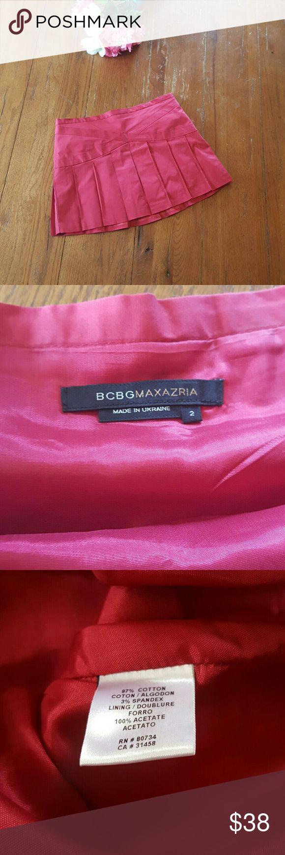 """[BCBGMAXAZRIA] Skirt Brand: BCBGMAXAZRIA  Size: 2 Measurements: Length - 13"""" BCBGMaxAzria Skirts Mini"""