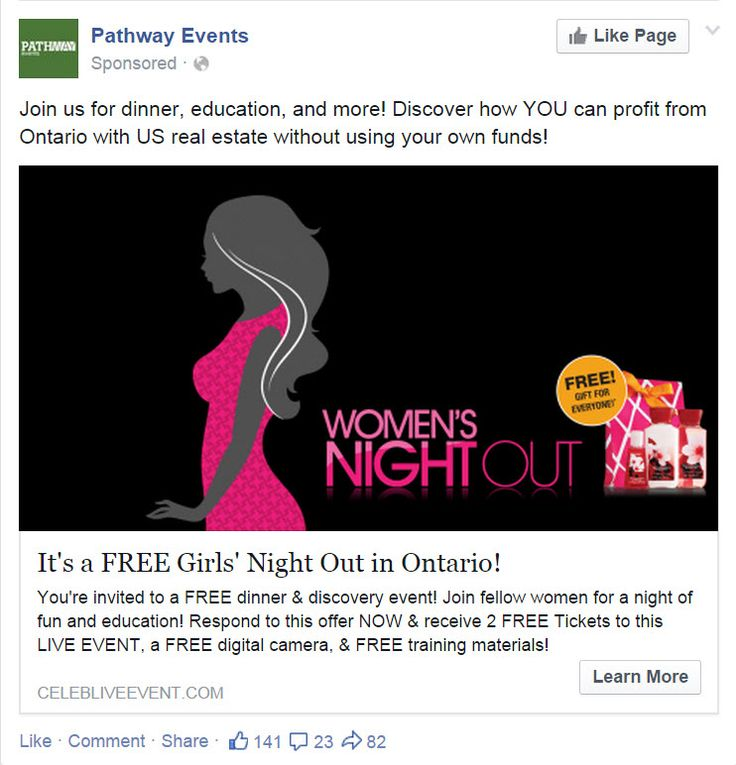 Pathway Events FB Ad