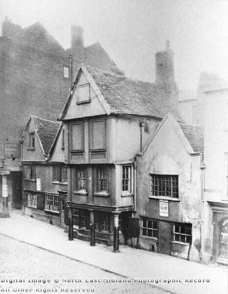 Flying Horse pub in the 1800s