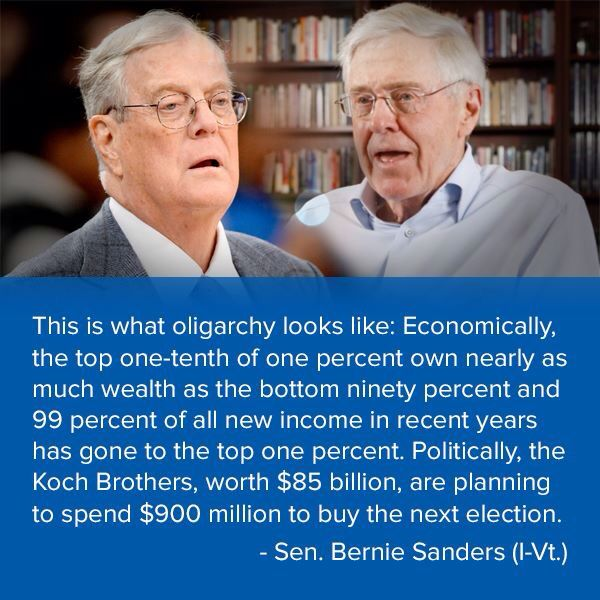 Koch oligarchy.