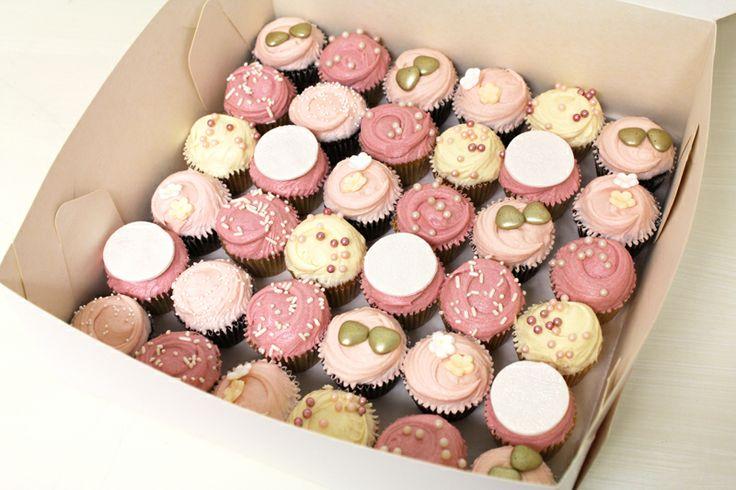Vintage Pink cupcakes by Sweet Bakery & Cakery, Wellington, NZ (www.sweetbakery.co.nz)