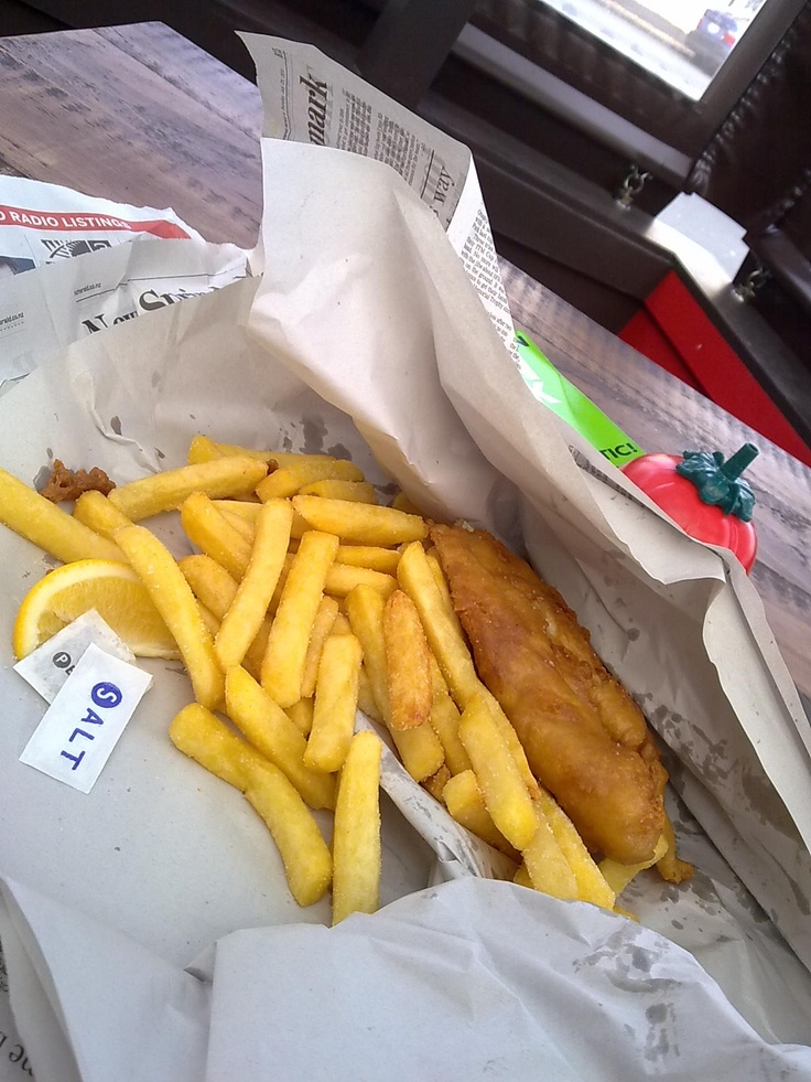 NZ fish and chips
