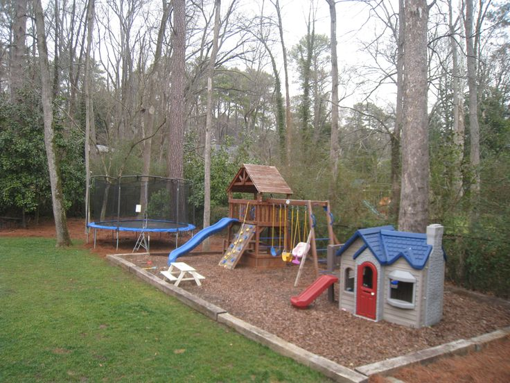 Awesome back yard for kids