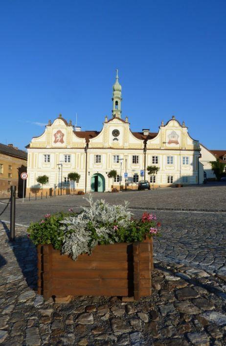 Town Hall in Kašperské Hory (South-West Bohemia), Czechia