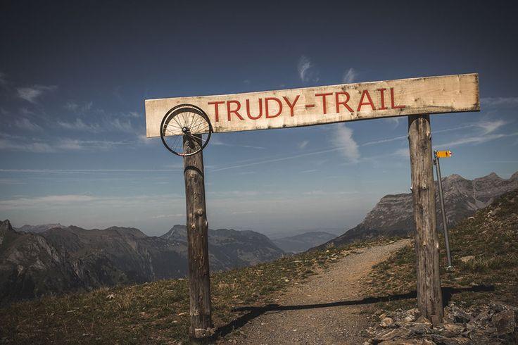 Trudy trail. Engelberg, Switzerland.
