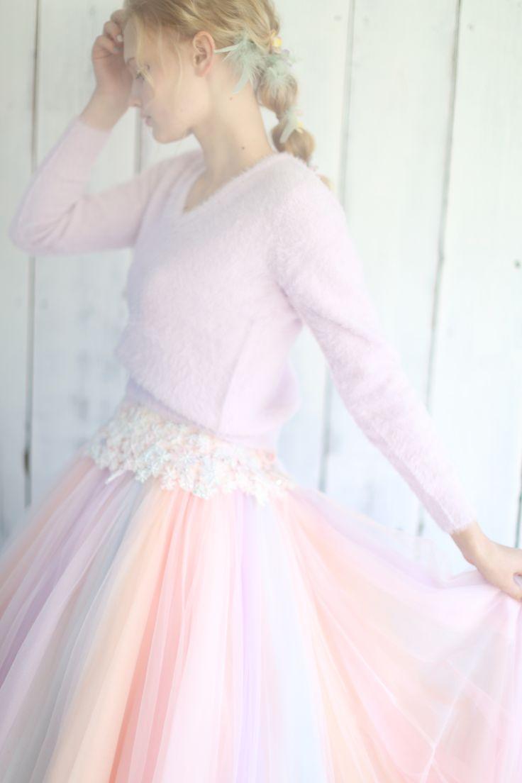 AYUMI BRIDAL COLOR DRESS RAINBOW color レインボーカラー