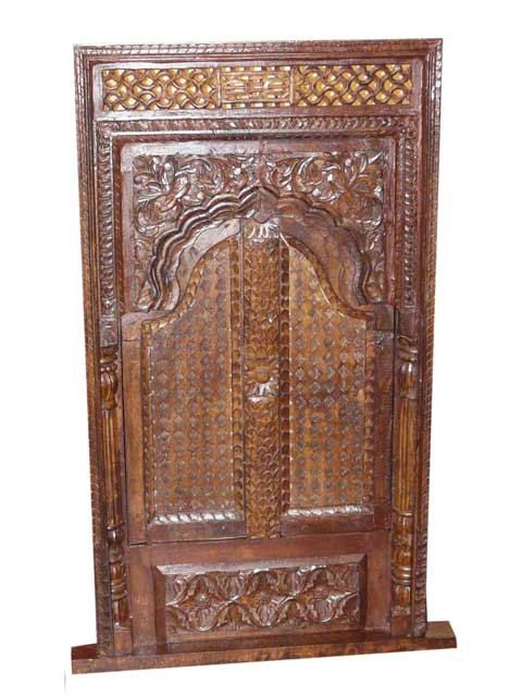 Antique Window Jharokha Rustic India Furniture $739.00