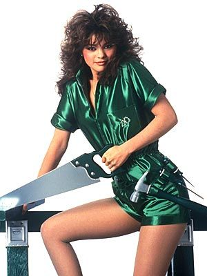 "Valerie Bertinelli    ""The hair is typical '80s, right? That was for OC magazine,"" Bertinelli says. ""[The outfit] reminded me of the green hot pants my mom made for me when I was 12. That's why I put them on. I think it was right before I got married [to Eddie Van Halen]."
