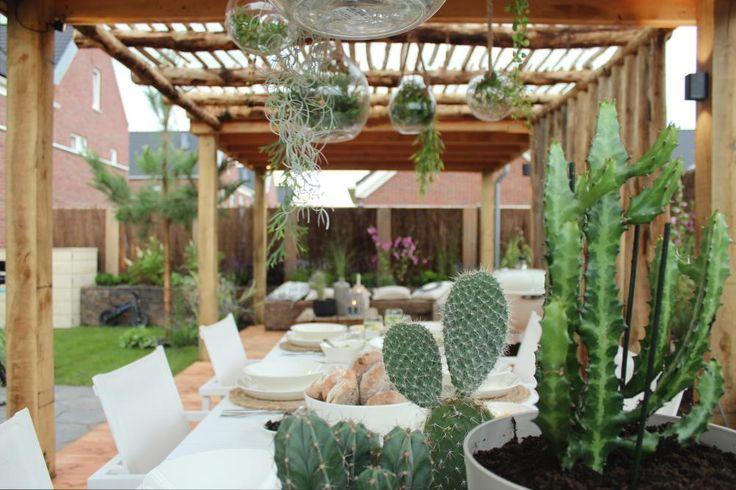 Zomerse Ibizatuin (deel 2) - Eigen Huis en Tuin