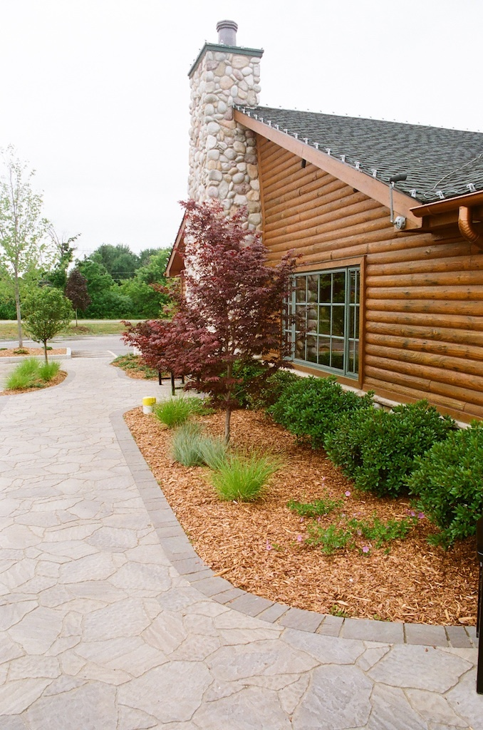 1000 images about cabin landscaping on pinterest for Cabin landscaping