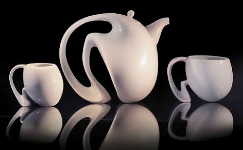 Jeroen Bechtold contemporary tea set