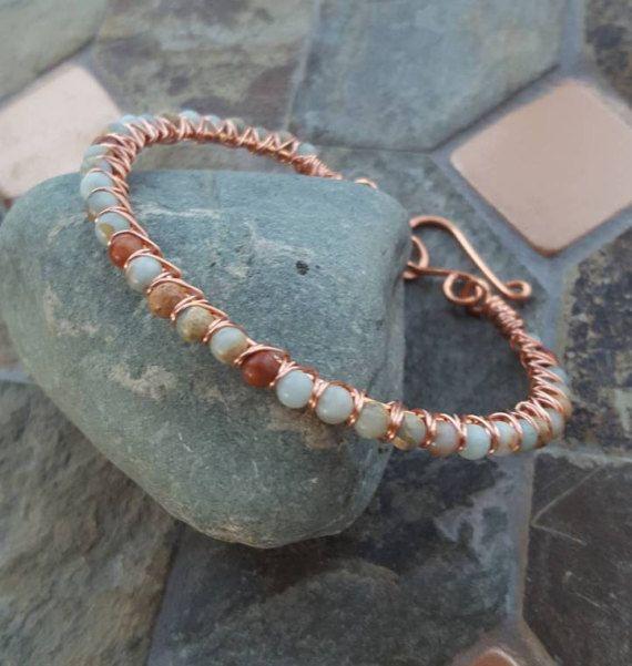 1277 best Wire Work Bracelets, Bangles & Anklets images on Pinterest ...