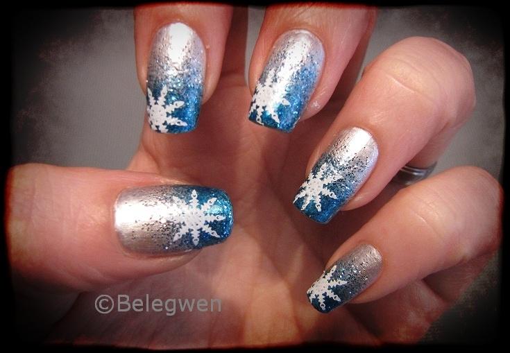 Nail Art by Belegwen: Talvikynnet..