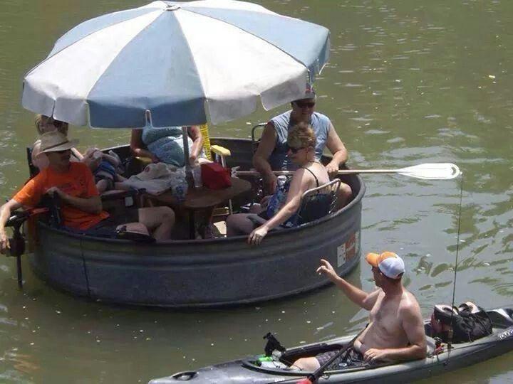 Trough Boat Redneck Ways Redneck Party Redneck Humor