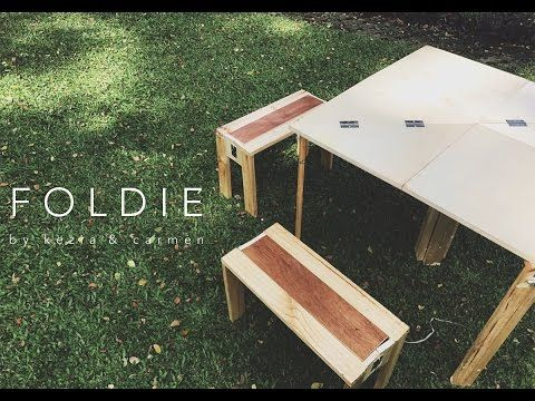FOLDIE - Portable table