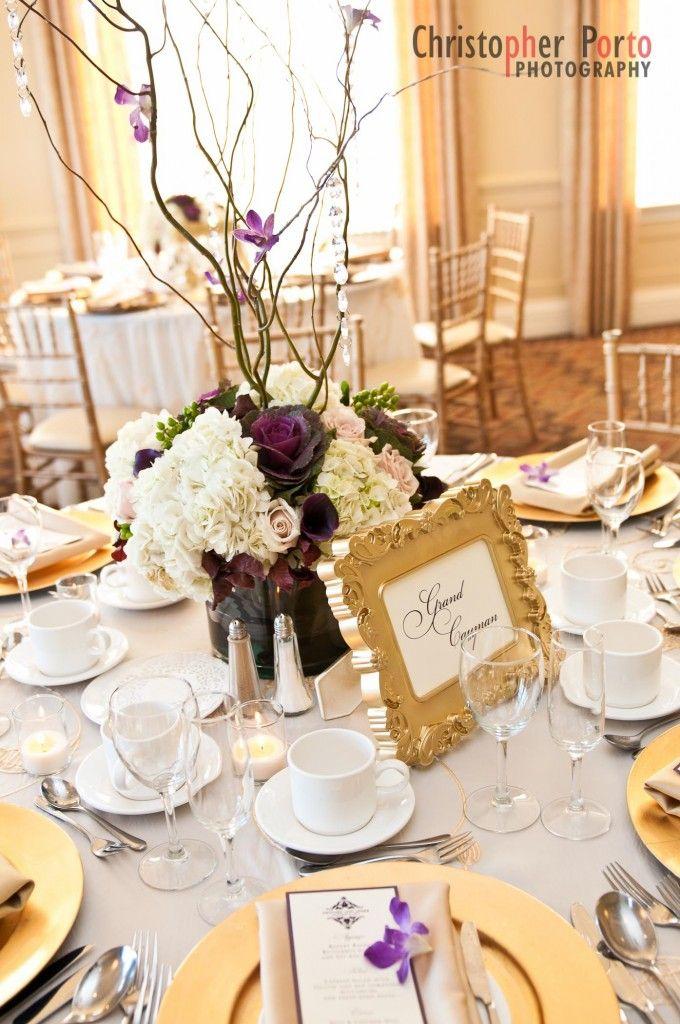 Best purple gold weddings ideas on pinterest