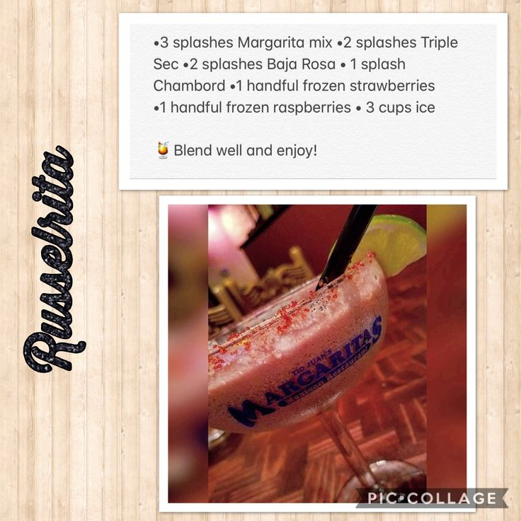 Copycat Russelrita recipe from Margaritas Restaurant - it's creamy, sweet and delicious!  No link, just a picture