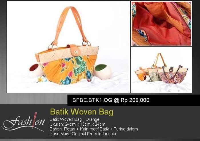 Batik Woman Bag