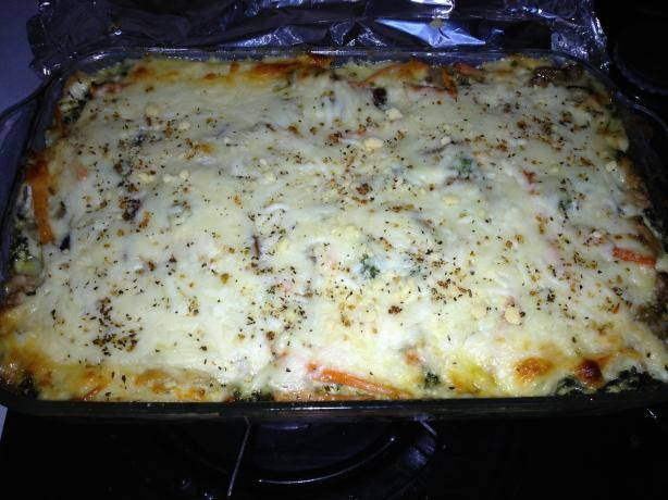 Irresistible & Healthy Vegetarian Lasagna W/ Cream Sauce! Pretty sure i can convert this too be gluten free!