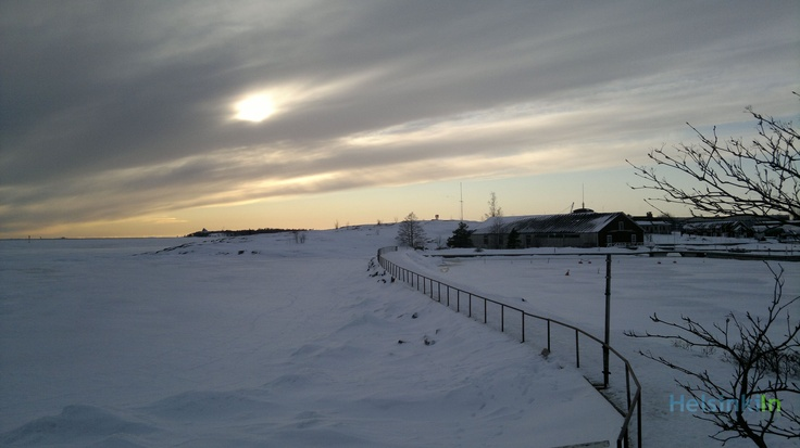 A winter day at Uunisaari
