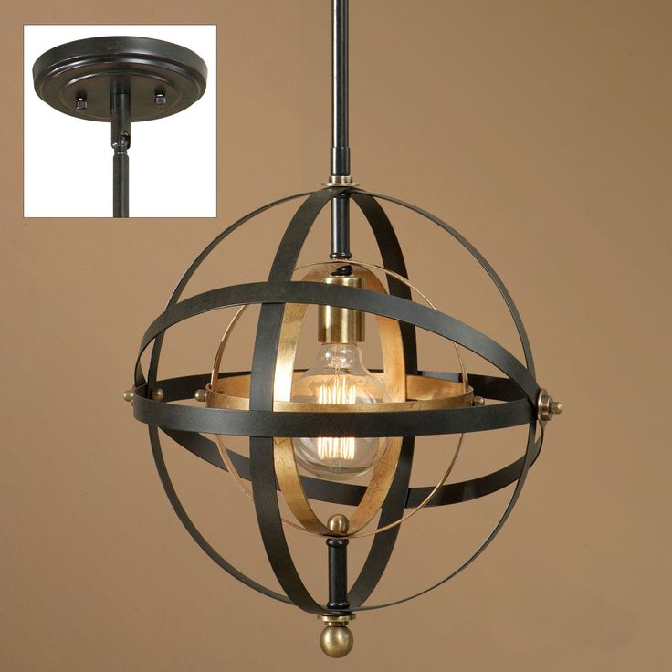 Uttermost Rondure 22039 1-Light Sphere Mini Pendant - 22039