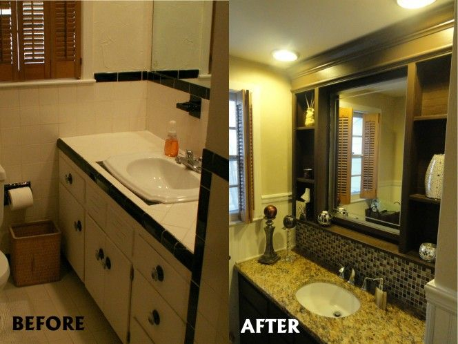 Repaint Bathroom Vanity Before And After Repaint Your