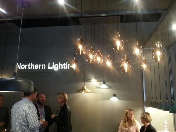 Beautiful new fittings on show on the @moodmakers stand at #Euroluce Using MEGAMAN IncandaLED: http://www.megamanau.com.au