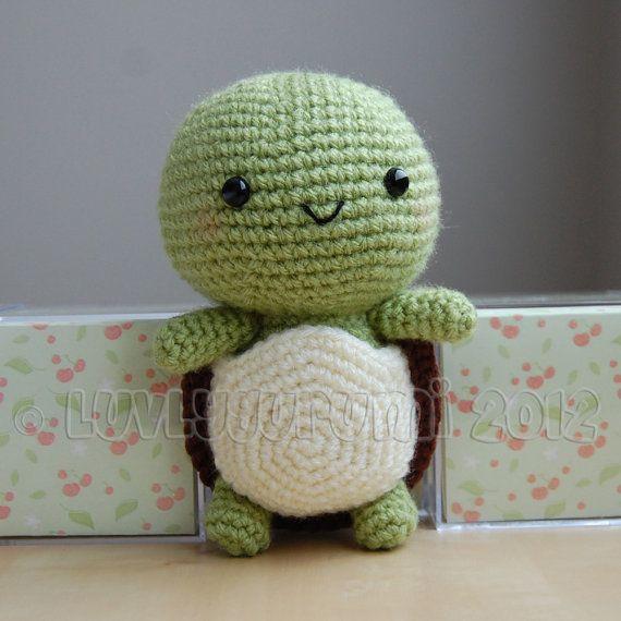 Turtle Crochet Pattern von LuvlyGurumi auf Etsy