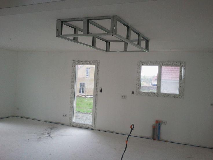 comment soi m me photos de r alisations personnelles plafond descendu d caissement escalier. Black Bedroom Furniture Sets. Home Design Ideas