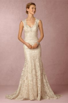 BHLDN Shea Gown in  New at BHLDN
