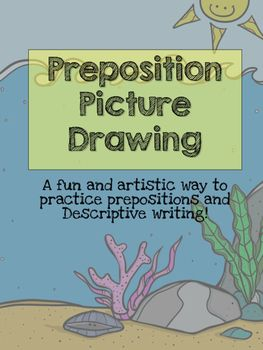 This download is a fun and creative way to practice identifying and correctly using prepositions. My middle school students love any hands on activities that involve coloring.  This assignment resembles a directed draw. They also have an opportunity to practice following directions and writing descriptions!