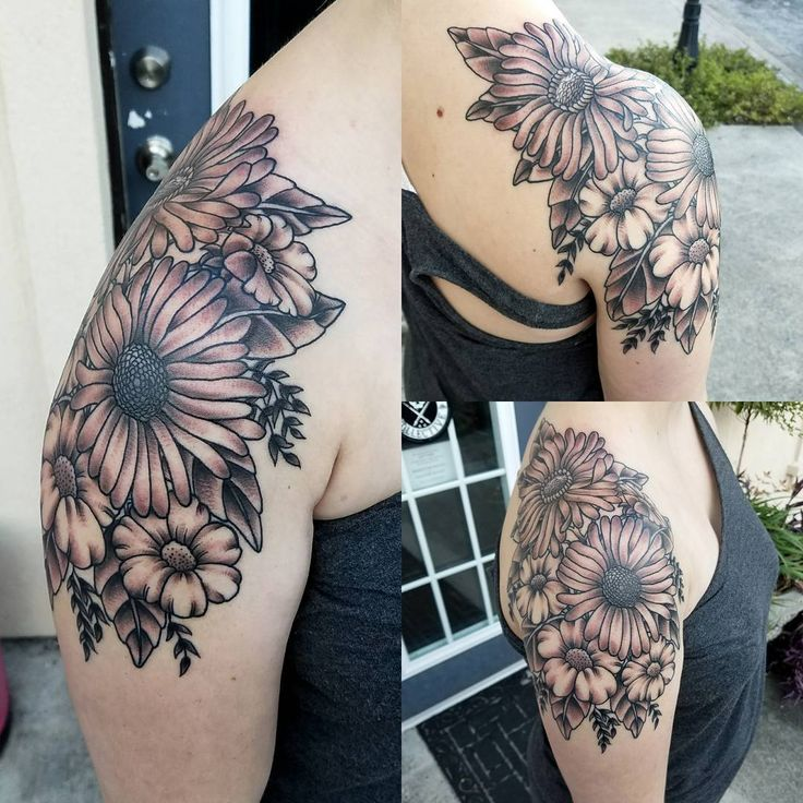 Flower Shoulder Tattoo Designs: The 25+ Best Flower Shoulder Tattoos Ideas On Pinterest