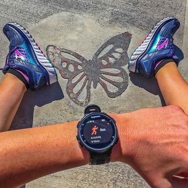 Spread your wings & fly! Get out there & Run Happy! Photo via @daniellehartruns  Running Inspiration | Submit Yours On Instagram with #BrooksRunning