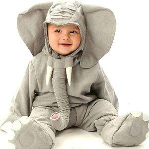 Cute Animal-Themed Costumes for Kids: Elephant (via Parents.com)