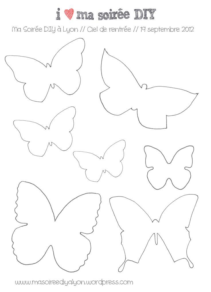 Bonjour, plusieurs d'entre vous on aimé utiliser les gabarits papillons proposés lors de la soirée. Donc les re-voici à télécharger (clic et enregistrez l'image). Reste plus qu'à trouver de beaux p...