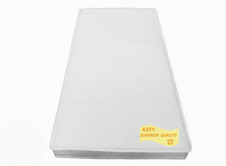 KATYR Superior Deluxe Spring Cot Bed Junior Sprung Mattress 140x70 X 10CM THICK