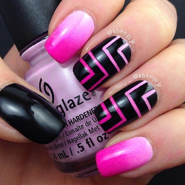 16 Super Cool Ombre Gradient Nail Art Tutorials: 17+ Ideas About Gradient Nails On Pinterest