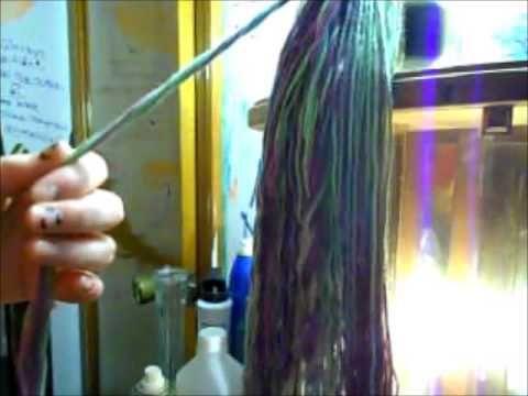 How To Make Yarn Dread Falls!