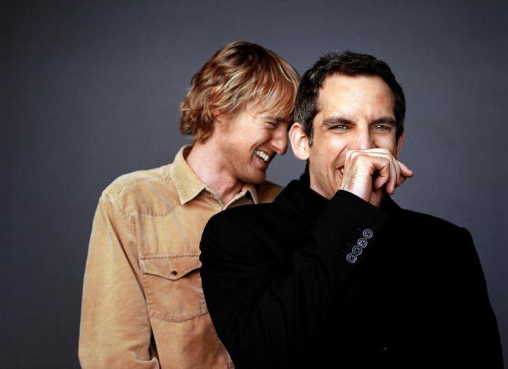 Ben Stiller and Owen Wilson.