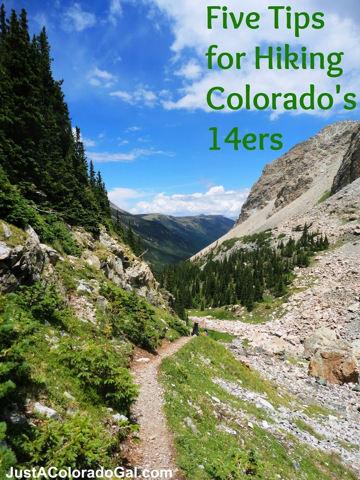 Ever wanted to hike a 14er? These tips will help you get started!