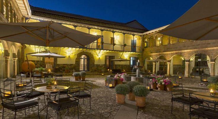 泊ってみたいホテル・HOTEL|ペルー>クスコ>中心部の太陽神殿向かいにあるホテル>パラシオ デル インカ ア ラグジュアリー コレクション ホテル(Palacio del Inka, A Luxury Collection Hotel)