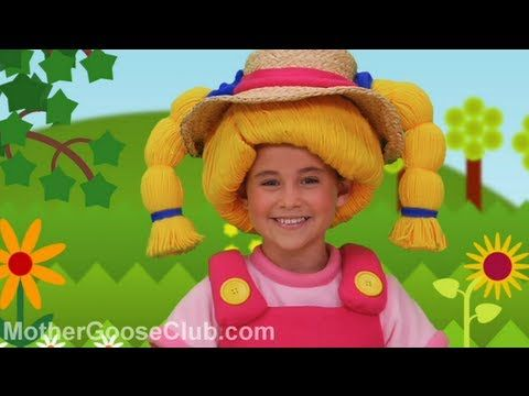 ▶ Mary Mary Quite Contrary - Mother Goose Club Nursery Rhymes - YouTube