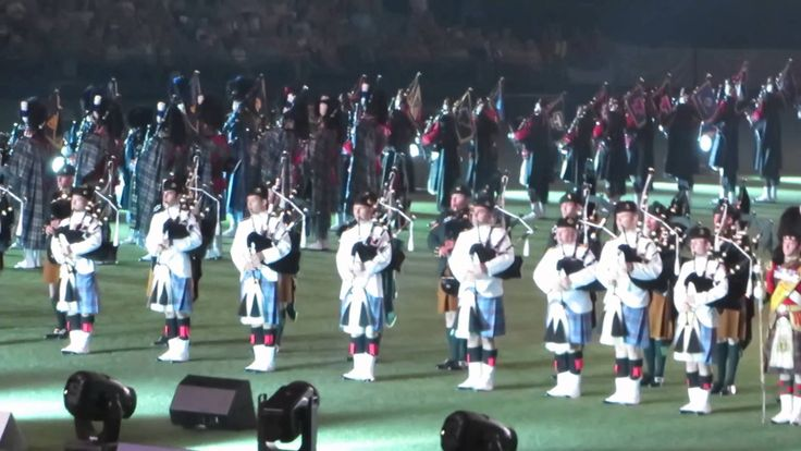 Scottish Pipe Bands Edinburgh Military Tattoo 2016 Melbourne