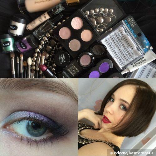Классический праздничный макияж в фиолетовых тонах — Отзывы о косметике — Косметиста