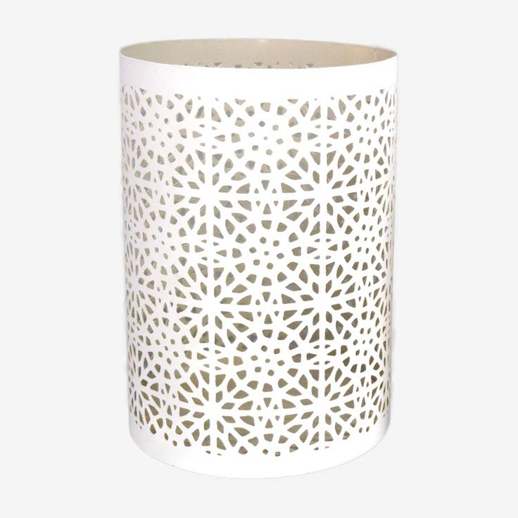 Moroccan white candle burner
